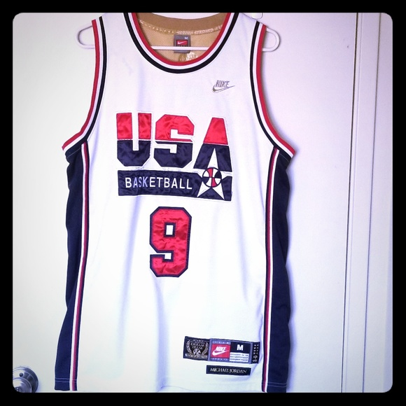 michael jordan dream team jersey